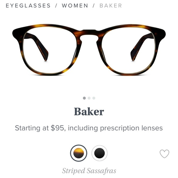 90ff3dd0c6 Warby Parker Baker Eyeglasses